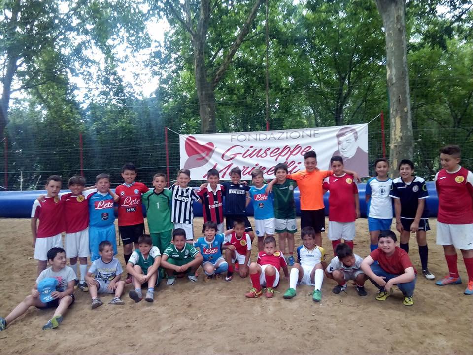 In Irpinia volley e calcio come in spiaggia grazie alla Fondazione Marinelli