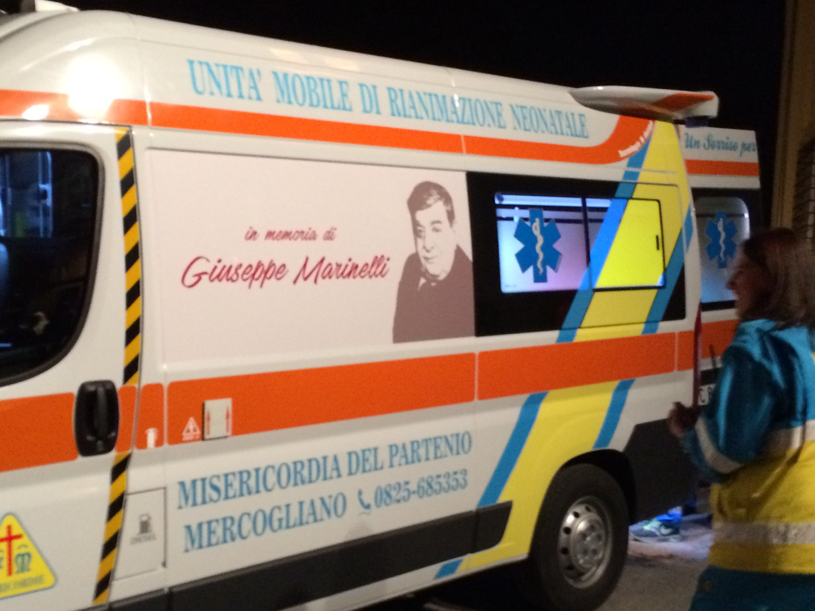 Inaugurata l'ambulanza neonatale donata dalla Fondazione Giuseppe Marinelli
